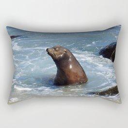 Frolicking Grand Poobah Rectangular Pillow