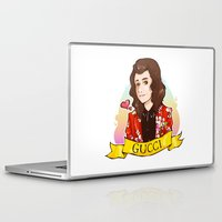 gucci Laptop & iPad Skins featuring Gucci Styles by Art of Nanas