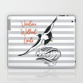 Sea adventure. Vacations without limits Laptop & iPad Skin