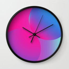 Futuristic Circles Wall Clock