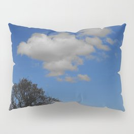 White cloud dreaming and Blue Sky thinking in Zakynthos Pillow Sham