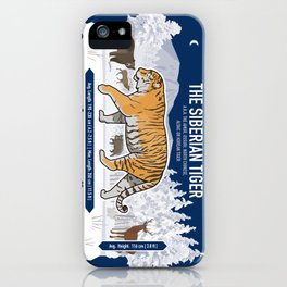 The Wild Ones: Siberian Tiger (info) iPhone Case