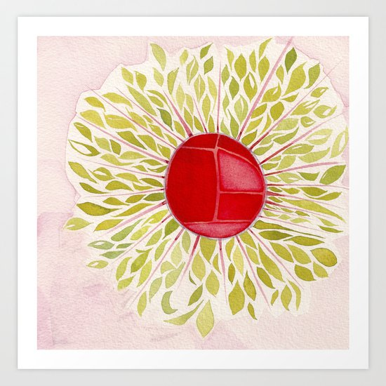 Each Leaf Art Print