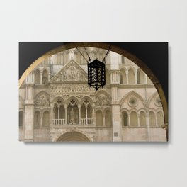 Cathedral Ferrara Italy  Metal Print