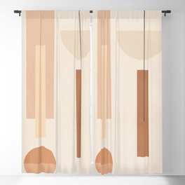 Minimal Geometric Shapes 89 Blackout Curtain