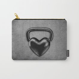 Kettlebell heart / 3D render of heavy heart shaped kettlebell Carry-All Pouch