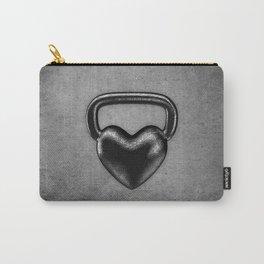 Kettlebell heart / 3D render of heavy heart shaped kettlebell Carry-All Pouch