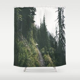 Happy Trails IV Shower Curtain