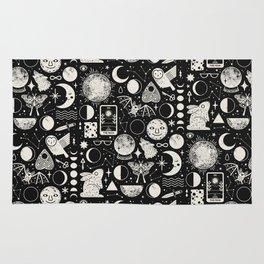Lunar Pattern: Eclipse Rug