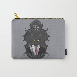 American Psycho Kitty Carry-All Pouch