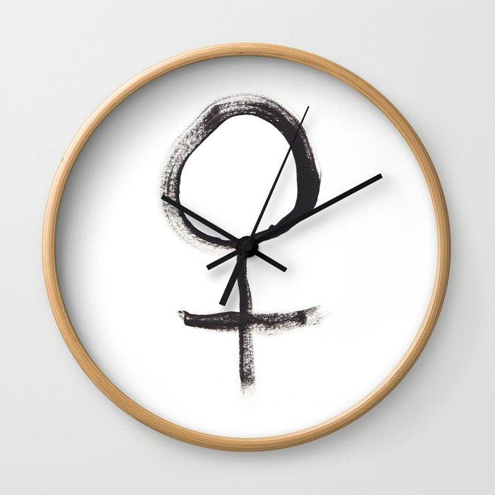 Feminism Wall Clock