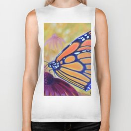 King of butterfly | Le roi des papillons Biker Tank