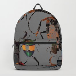 NATURE LOVERS BEETLE BUG COLLECTION ART Backpack