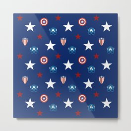 The Star Spangled Man With A Plan Metal Print