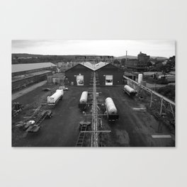 Steel Co. Canvas Print
