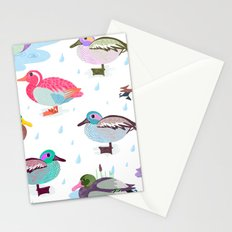 Nice Weather For Ducks Stationery Cards