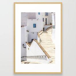 Frigiliana Framed Art Print