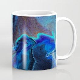 Blue Edged Galaxy Coffee Mug