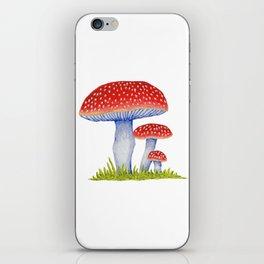 Woodland Toadstools iPhone Skin