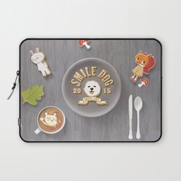 SmileDog Icing Cookies Laptop Sleeve