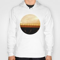 road Hoodies featuring road by gasponce