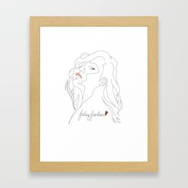 Feeling Fearless Framed Art Print