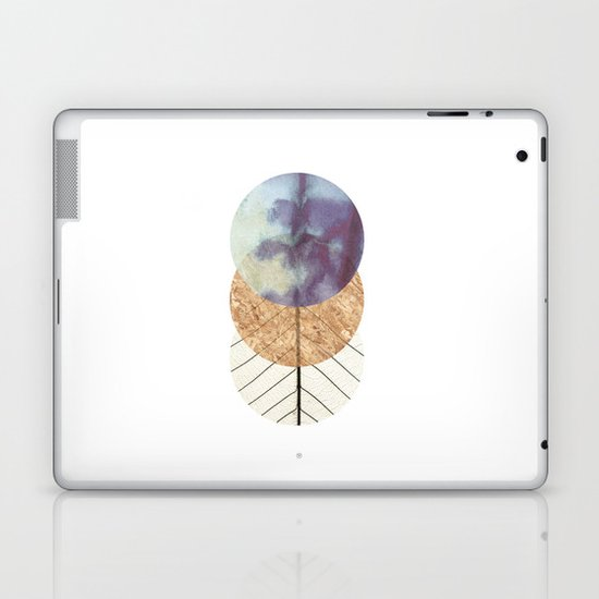 Under The Moon Laptop & iPad Skin