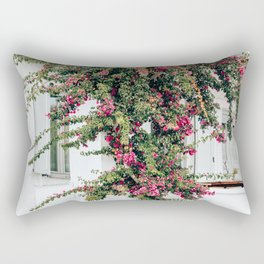 Separate the Pinks from the Whites | Mykonos, Greece Rectangular Pillow