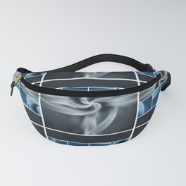 Digital Collage Pattern Fanny Pack