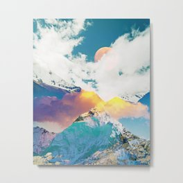 Dreaming Mountains Metal Print