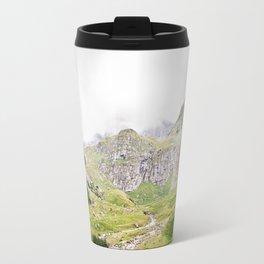 The Alps, Mountains, Landscape Scene Travel Mug