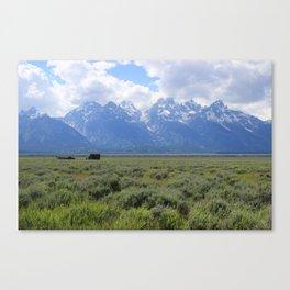 The Moulton Barn Mormon Row Canvas Print