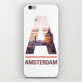 A-msterdam iPhone Skin