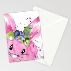 Easter Bunny Peek A Boo Stationery Cards