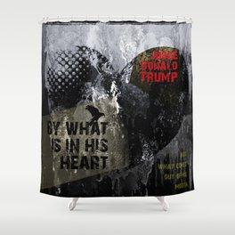 Judge Donald Trump .3 Shower Curtain