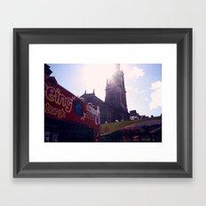 Tourist (Edinburgh) Framed Art Print
