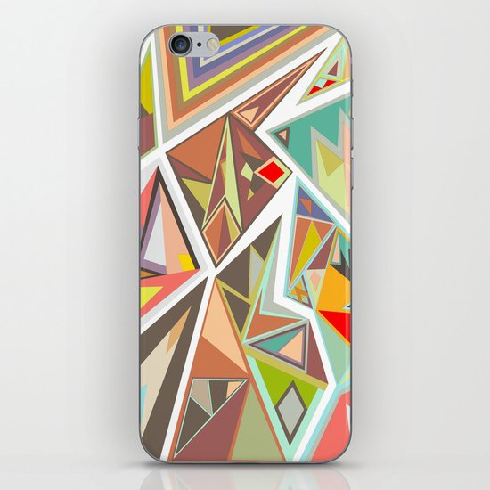 Shattered Glass iPhone & iPod Skin