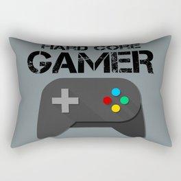 Game Console Black Joystick Rectangular Pillow