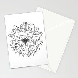 Dahlia 1 Stationery Cards