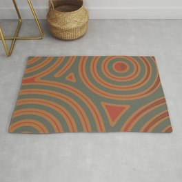 In a roundabout way IV Rug