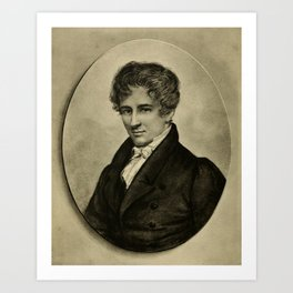 Johan Gørbitz - Niels Henrik Abel Art Print