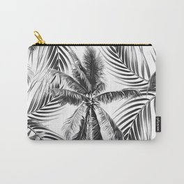 South Pacific palms II - bw Carry-All Pouch