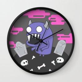 Ghoul Wall Clock