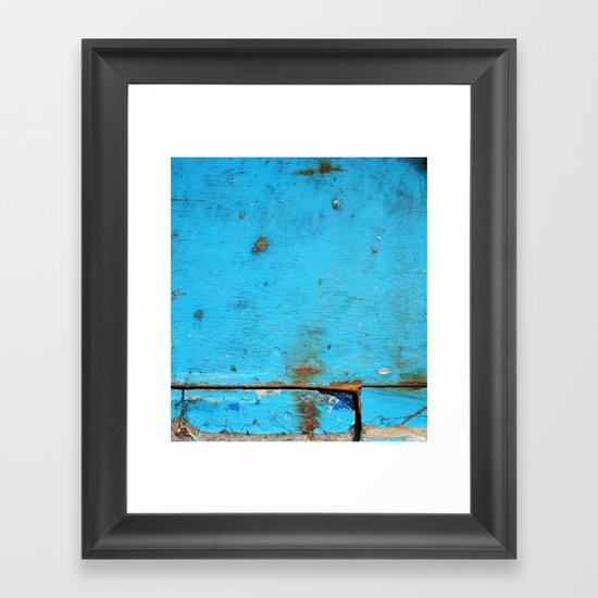 Segments Framed Art Print
