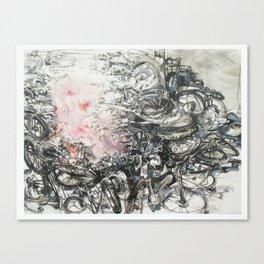 bomb c Canvas Print