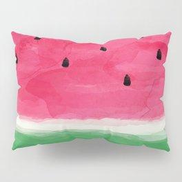 Watermelon Abstract Pillow Sham