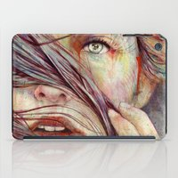hair iPad Cases featuring Opal by Michael Shapcott