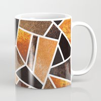 earth Mugs featuring Earth by Elisabeth Fredriksson