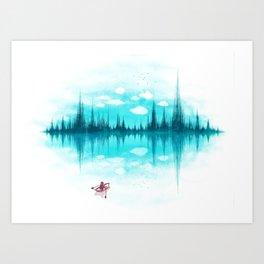 Sound Of Nature Art Print