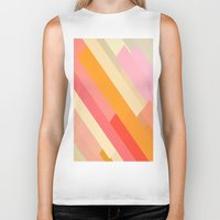 sprinkles Biker Tanks featuring color story - sprinkles by Amanda Millner McAdoo